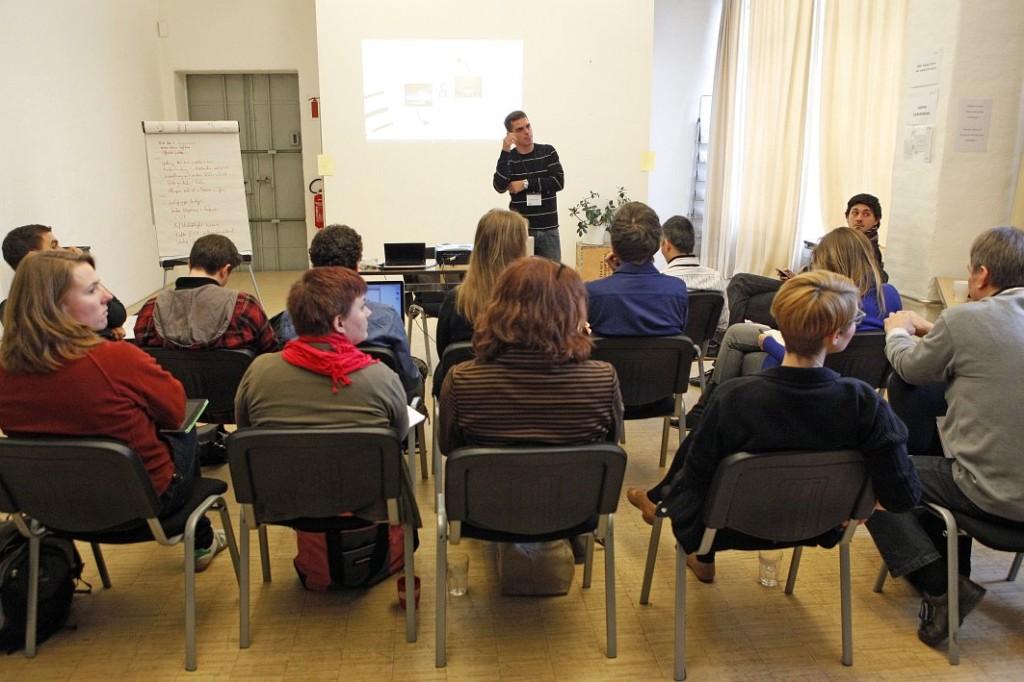 Hannes Jaehnert beim opentransfer CAMP