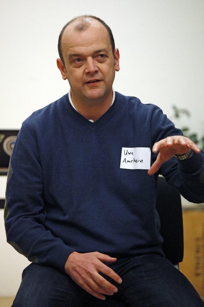 Uwe Amhein, Stiftung Bürgermut