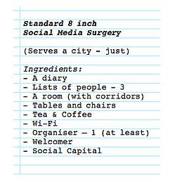 Das Rezept zur Gründung einer Social Media Surgery