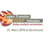 Logo vom openTransfer CAMP Inklusion am 21. März 2015