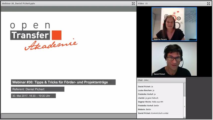 Vorschau auf das openTransfer Webinar mit Daniel Pichert