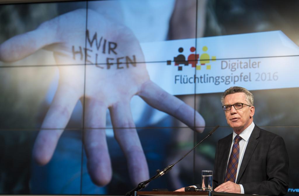 Digitaler Flüchtlingsgipfel